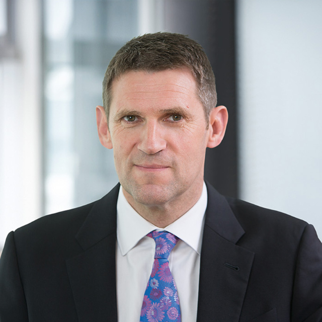 John Martin, Group Chief Executive